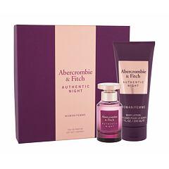 Parfémovaná voda Abercrombie & Fitch Authentic Night 50 ml Kazeta