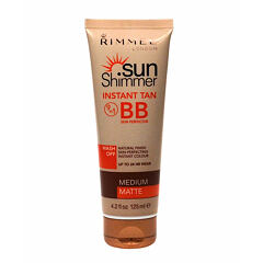 BB krém Rimmel London Sun Shimmer 9in1 125 ml Medium Matte