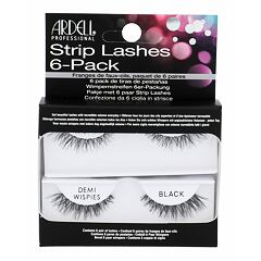 Umělé řasy Ardell Strip Lashes Demi Wispies 6 ks Black