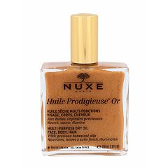 Tělový olej NUXE Huile Prodigieuse Or Multi Purpose Dry Oil Face, Body, Hair