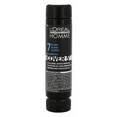 Barva na vlasy L´Oréal Professionnel Homme Cover 5´ 3x50 ml 7 Medium Blond
