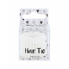 Gumička na vlasy 2K Hair Tie 3 ks White