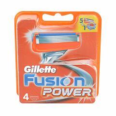 Náhradní břit Gillette Fusion Power 4 ks