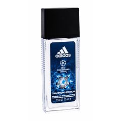 Deodorant Adidas UEFA Champions League Champions Edition 75 ml