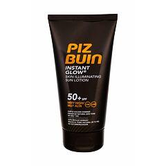 Opalovací přípravek na tělo PIZ BUIN Instant Glow Skin Illuminating Lotion SPF50+ 150 ml