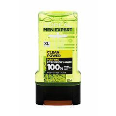 Sprchový gel L´Oréal Paris Men Expert Clean Power 300 ml