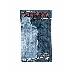 Toaletní voda Replay Jeans Spirit! For Him 1,2 ml Vzorek