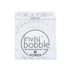 Gumička na vlasy Invisibobble Power Hair Ring 3 ks Crystal Clear