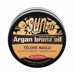 Opalovací přípravek na tělo Vivaco Sun Argan Bronz Oil Suntan Butter 200 ml