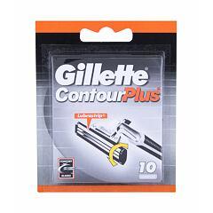 Náhradní břit Gillette Contour Plus 10 ks