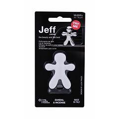 Vůně do auta Mr&Mrs Fragrance Jeff  Sandal & Incense 1 ks