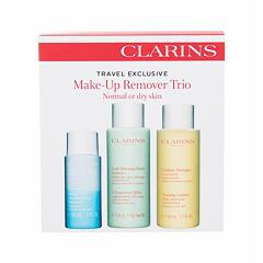 Čisticí mléko Clarins Make-Up Remover Trio 50 ml Kazeta