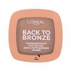 Bronzer L´Oréal Paris Back To Bronze 9 g 02 Sunkiss
