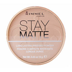 Pudr Rimmel London Stay Matte 14 g 009 Amber