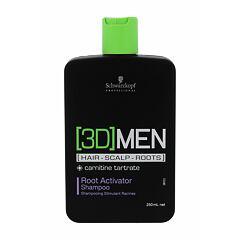 Šampon Schwarzkopf Professional 3DMEN Root Activator 250 ml