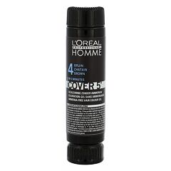 Barva na vlasy L´Oréal Professionnel Homme Cover 5´ 3x50 ml 4 Medium Brown