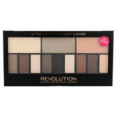 Oční stín Makeup Revolution London Ultra Eye Contour Light & Shade 14 g