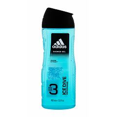 Sprchový gel Adidas Ice Dive 3in1 400 ml