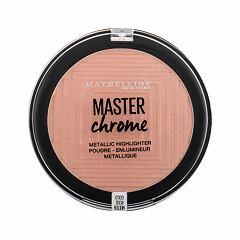 Rozjasňovač Maybelline Master Chrome 9 g 050 Molten Rose Gold