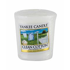 Vonná svíčka Yankee Candle Clean Cotton 49 g