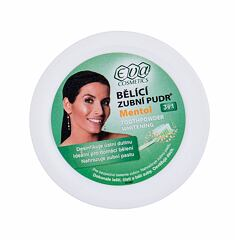 Bělení zubů Eva Cosmetics Whitening Toothpowder Mentol 3in1 30 g