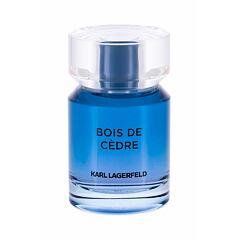 Toaletní voda Karl Lagerfeld Les Parfums Matières Bois de Cedre 50 ml