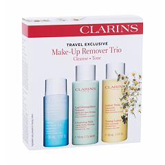 Čisticí voda Clarins Make-Up Remover Trio 50 ml Kazeta