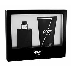 Toaletní voda James Bond 007 Seven 50 ml poškozená krabička Kazeta