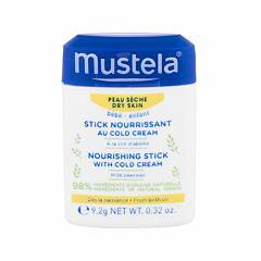 Denní pleťový krém Mustela Bébé Nourishing Stick With Cold Cream 10,1 ml
