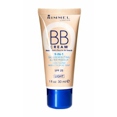 BB krém Rimmel London BB Cream 9in1 SPF25 30 ml Light