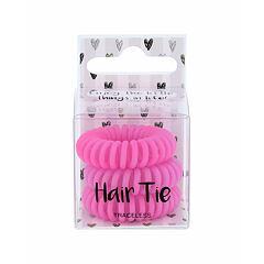 Gumička na vlasy 2K Hair Tie 3 ks Pink