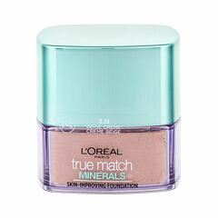 Makeup L´Oréal Paris True Match Minerals Skin-Improving 10 g 3.N Creme Beige