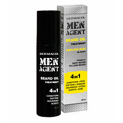 Olej na vousy Dermacol Men Agent Beard Oil 4in1 50 ml