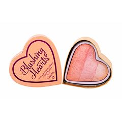Tvářenka Makeup Revolution London I Heart Makeup Blushing Hearts 10 g Peachy Pink Kisses