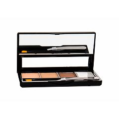 Set a paletka na obočí Makeup Revolution London I Heart Makeup Brows Kit 3 g Fairest Of Them All