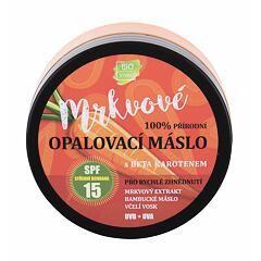 Opalovací přípravek na obličej Vivaco Bio Carrot Suntan Butter SPF15 150 ml