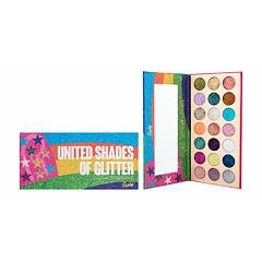 Oční stín Rude Cosmetics United Shades of Glitter 23,1 g
