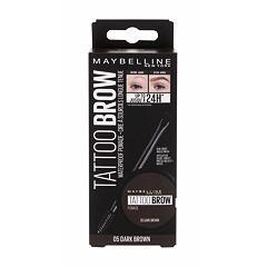 Gel a pomáda na obočí Maybelline Brow Tattoo Lasting Color Pomade 4 g 05 Dark Brown
