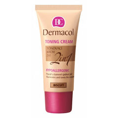 BB krém Dermacol Toning Cream 2in1 30 ml Biscuit