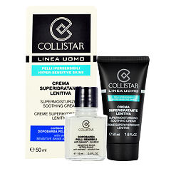 Denní pleťový krém Collistar Men Supermoisturizing Soothing Cream 65 ml Kazeta