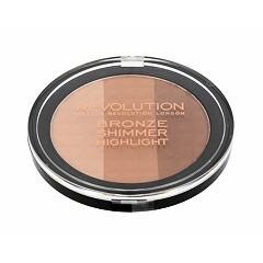 Pudr Makeup Revolution London Ultra Bronze, Shimmer And Highlight 15 g