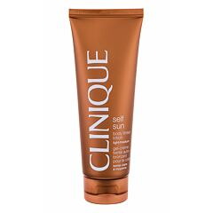 Samoopalovací přípravek Clinique Self Sun Light/Medium 125 ml