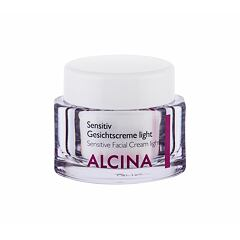 Denní pleťový krém ALCINA Sensitive Facial Cream Light 50 ml