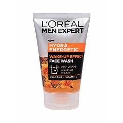 Čisticí gel L´Oréal Paris Men Expert Hydra Energetic Wake-Up Effect 100 ml
