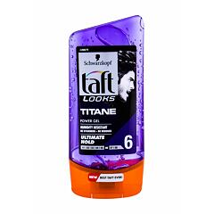 Gel na vlasy Schwarzkopf Taft Titan Look Power Gel 150 ml