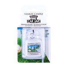 Vůně do auta Yankee Candle Clean Cotton Car Jar 1 ks