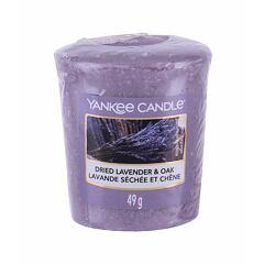Vonná svíčka Yankee Candle Dried Lavender & Oak 49 g