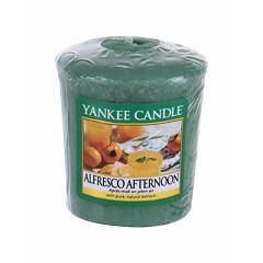 Vonná svíčka Yankee Candle Alfresco Afternoon 49 g