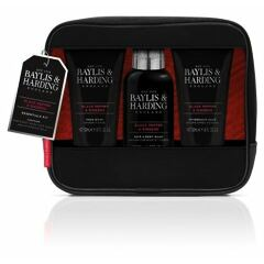 Sprchový gel Baylis & Harding For Him Black Pepper & Ginseng Essentials 100 ml Kazeta