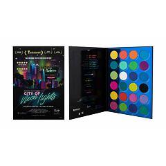 Oční stín Rude Cosmetics City of Neon Lights 36 g